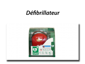 cadre defibrillateur