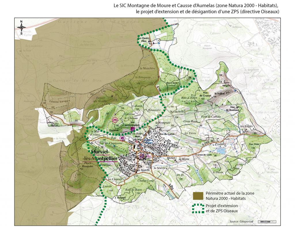 Carte Natura 2000 + extension copie