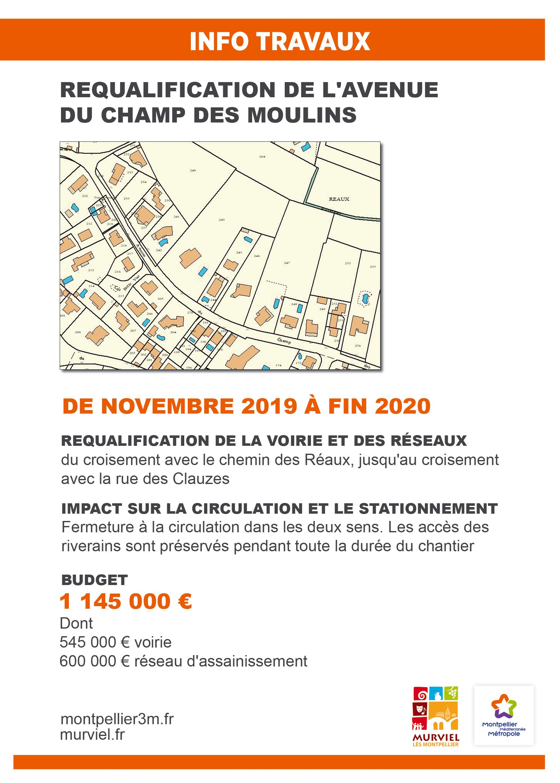 Maitrise D Oeuvre Montpellier travaux | ville de murviel-lès-montpellier